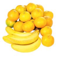 Mandarin and banana