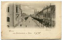 Vintage card sent the 1st of July 1898