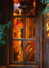 House interior window