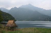 Primitive Thatched Hut.