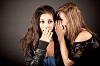 Two Girls Sharing a Secret
