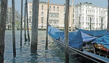 Venetian Gondolas and Grand Canal