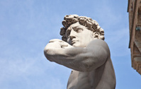 Michelangelo's David: Piazza della Signoria, Florence