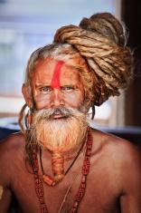 Sadhu - holy man with dreads