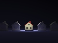 House in the light