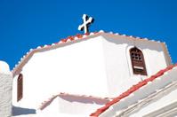Greek orthodox church. Rhodes Greece.
