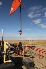 Pumpjack in Southern Alberta