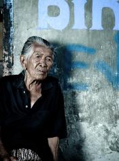 Elderly Balinese Woman