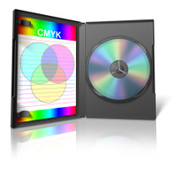 CMYK DVD Case