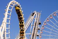 Cork-screw Rollercoaster
