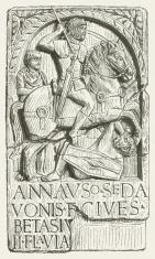 Roman auxiliary trooper