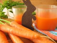 Carrot juice for children