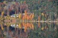autumn lake in austria