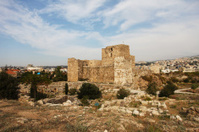 Crusaders castle in Byblos, Lebanon