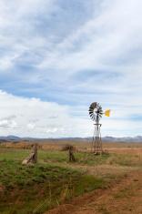 Windmill waterpump near Cloclan
