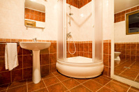 Bathroom with Shower Booth