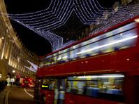 Xmas lights in Regents Street London