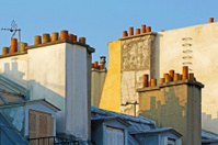 On the roofs of Paris