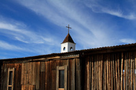 Arizona ghost town church