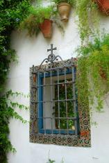Window with holy Cross