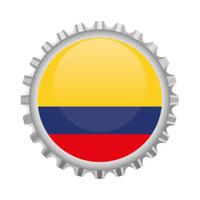 Colombia bottle top