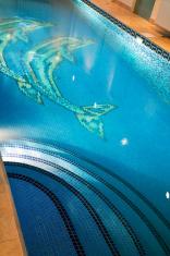 pool with illumination