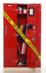 School Locker Crime Scene