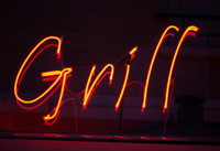 Grill neon