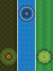 Mandala Banners