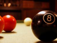 Billard Balls Close up