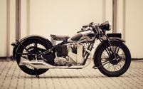 vintage british motorcycle