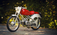 vintage italian motorcycle