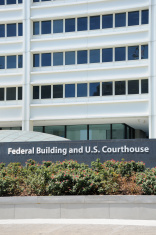 Federal building and u.s. courthouse sign