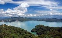 Panorama of the Famous Sun Moon Lake