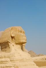 Sphinx at Pyramid of Giza, Egypt