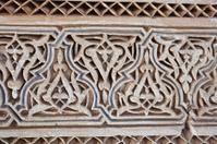 stucco and stonework, Morocco
