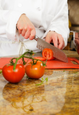 Chef Working in a Kitchen