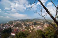 sa pa town-high angle view