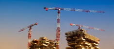 Buildings under Construction in Milan
