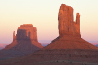 The Mittens in Monument Valley Tribal Park
