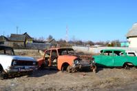 Old soviet cars