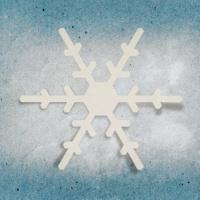 applique snowflake