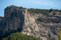 Roca del Castillo de Alaró, Mallorca, Islas Baleares