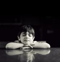 cuban kid portrait