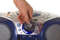Inserting a cassette