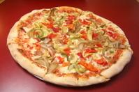 Gourmet Veggie Pizza