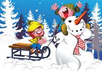 Our wonderful Snowman