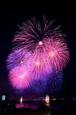 Fireworks in Pattaya