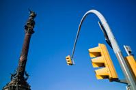 Columbus statue in Barcelona