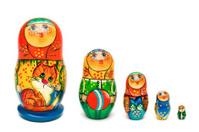 Russian toy matrioska